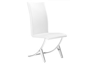 Delfin Chair - White (Pack of 2)