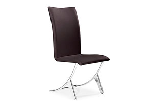 Delfin Chair - Espresso (Pack of 2)