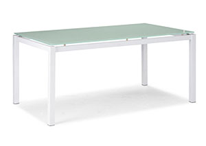 Liftoff Dining Table - White,Mr Bar Stool