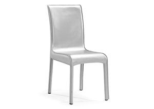 Vick Dining Chair - Silver (Pack of 2)