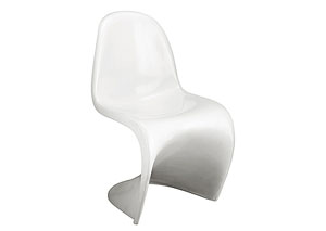 S Chair - White (Pack of 2)