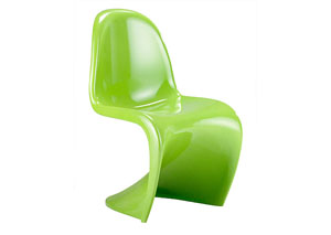 S Chair - Green (Pack of 2)