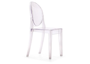 Anime Armless Chair - Transparent (Pack of 4)