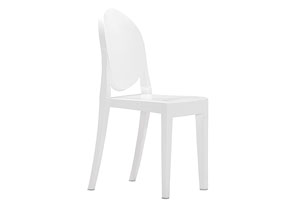 Anime Armless Chair - White (Pack of 4)