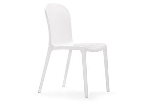 Gumdrop Chair - White (Pack of 4)
