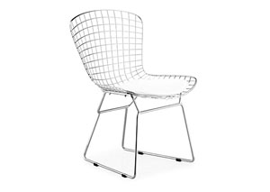 Wire Chair - Chrome (frame) (Pack of 2)