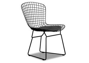 Wire Chair - Black (frame) (Pack of 2)