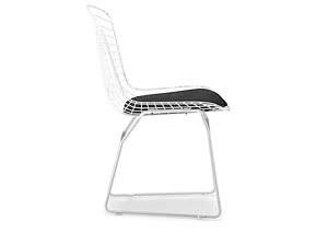Wire Chair - White (frame) (Pack of 2)