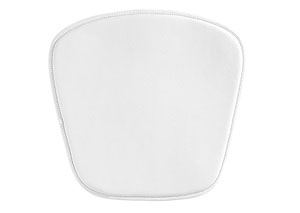 Mesh/Wire Bar/Wire Chair Cushion - White