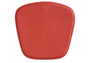 Mesh/Wire Bar/Wire Chair Cushion - Red