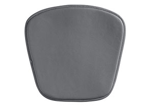 Mesh/Wire Bar/Wire Chair Cushion - Gray