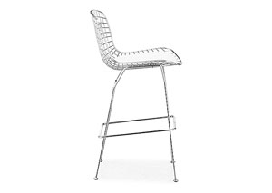 Wire Bar Chair - White (frame) (Pack of 2)