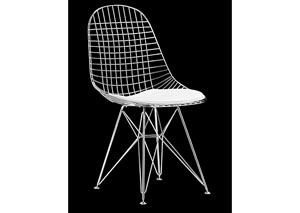 Mesh Chair - Chrome (frame) (Pack of 2)