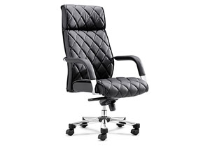 Regal Office Chair - Black