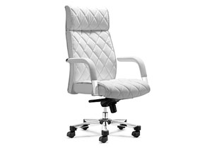 Regal Office Chair - White