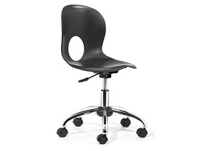 Pinhole Office Chair - Black