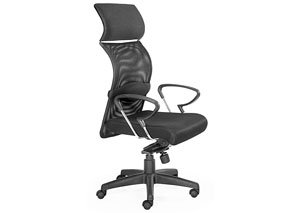 Eco Office Chair - Black Mesh