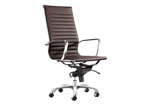 Lider Office Chair - Espresso (hi-back)
