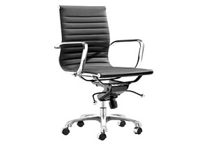 Lider Office Chair - Black