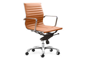 Lider Office Chair - Terracotta