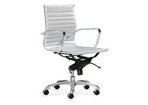Lider Office Chair - Silver