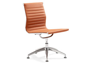 Lider Conference Chair - Terracotta
