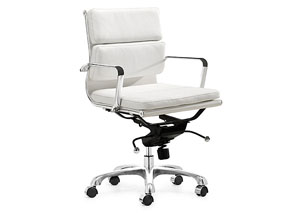 Director Office Chair - White