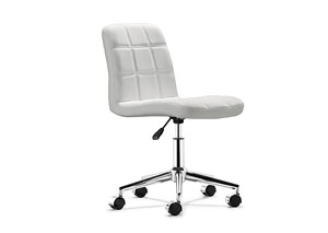 Agent Office Chair - White