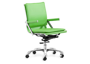 Lider Plus Office Chair - Green