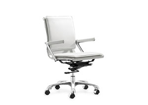 Lider Plus Office Chair - White