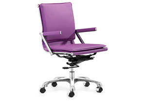 Lider Plus Office Chair - Purple