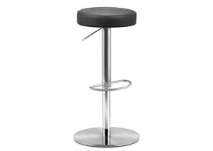 Mellow Adjustable Bar Stool - Black