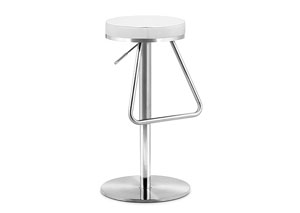 Soda Adjustable Bar Stool - Brown