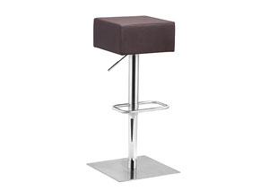 Butcher Adjustable Bar Stool - Brown