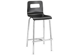 Escape Counter Stool - Black (Pack of 2)