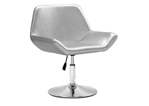 Neon Leisure Chair - Silver