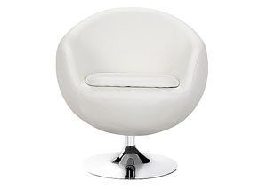 Bounce Arm Chair - White