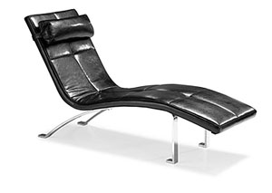Rhumba Lounge Chair - Black