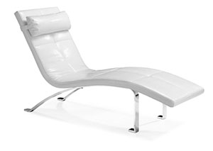 Rhumba Lounge Chair - White
