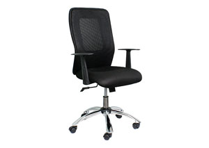 Director Office Chair - Black