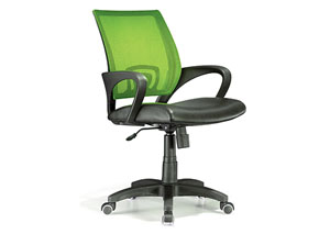 Officer Office Chair - Lime Green