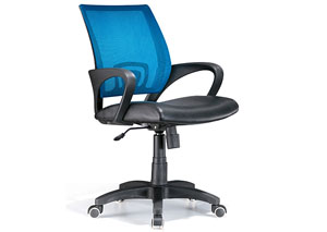 Officer Office Chair - Blue