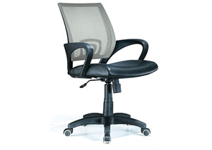 Officer Office Chair - Silver