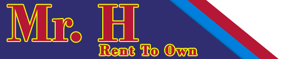 Mr. H Rent to Own Logo