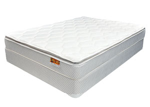 Astor Pillow Top Queen Mattress w/ Foundation
