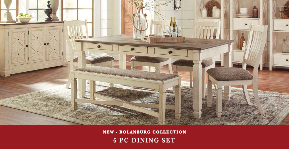 Bolanburg 6 Pc Dining Set