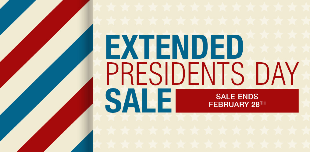 Extended Presidents Day Sale