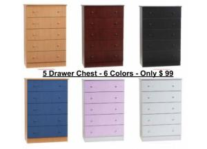 5 Drawer Chest Special
