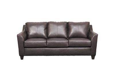 Image for Lane Furniture  Grant Top Grain Leather / Mate Sofa  Bark