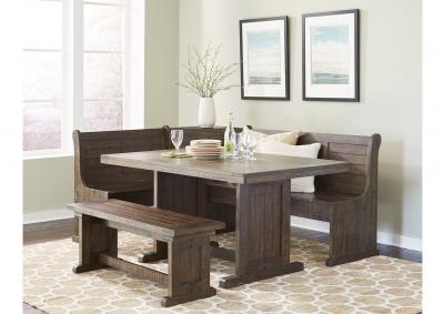Image for Homestead Breakfast Nook with Side Bench
